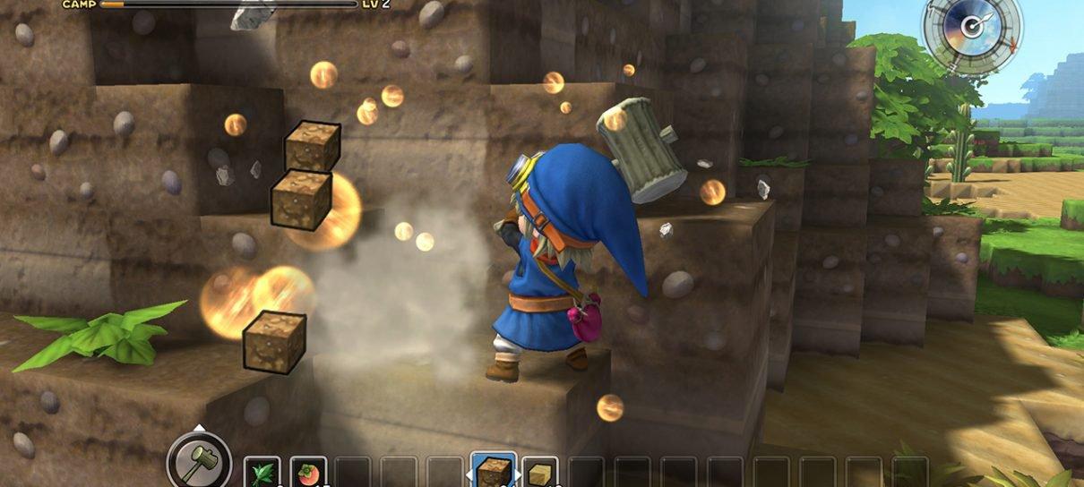 Veja as primeiras imagens de Dragon Quest Builders