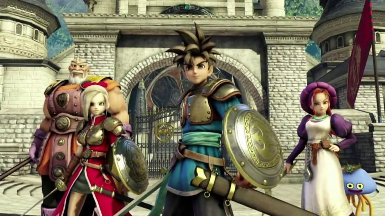 Parece que Dragon Quest Heroes está a caminho do Steam