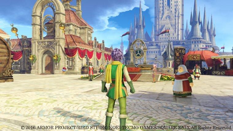 Square Enix divulga novas imagens de Dragon Quest Heroes II