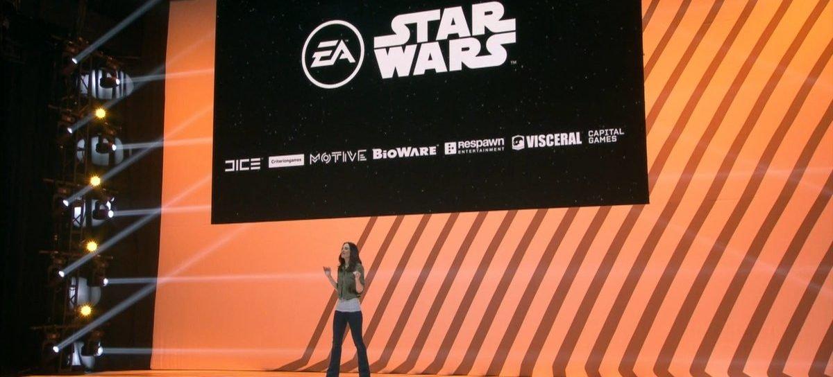 E3 2016   EA mostra o que esperar dos jogos de Star Wars nos próximos anos