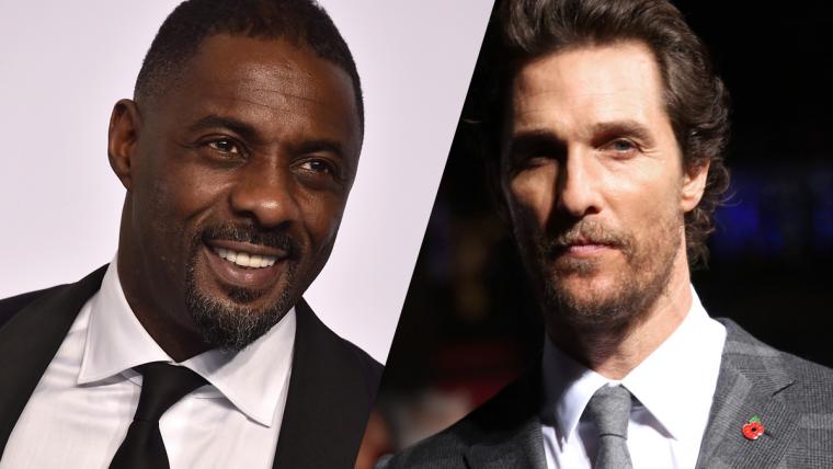 Idris Elba e Matthew McConaughey vão estrelar o filme de A Torre Negra