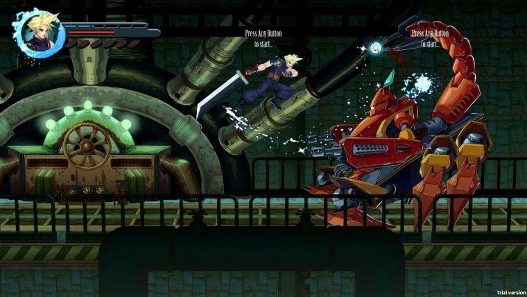 Fãs recriam Final Fantasy VII como jogo de ação 2D
