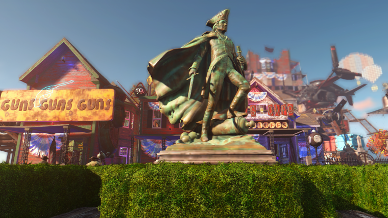 Cidade de BioShock Infinite é recriada em Fallout 4