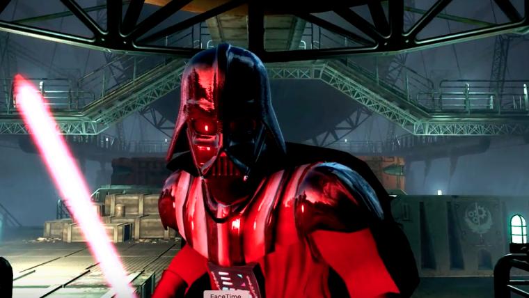 Darth Vader e Luke se enfrentam em vídeo incrível de Fallout 4 feito por fãs