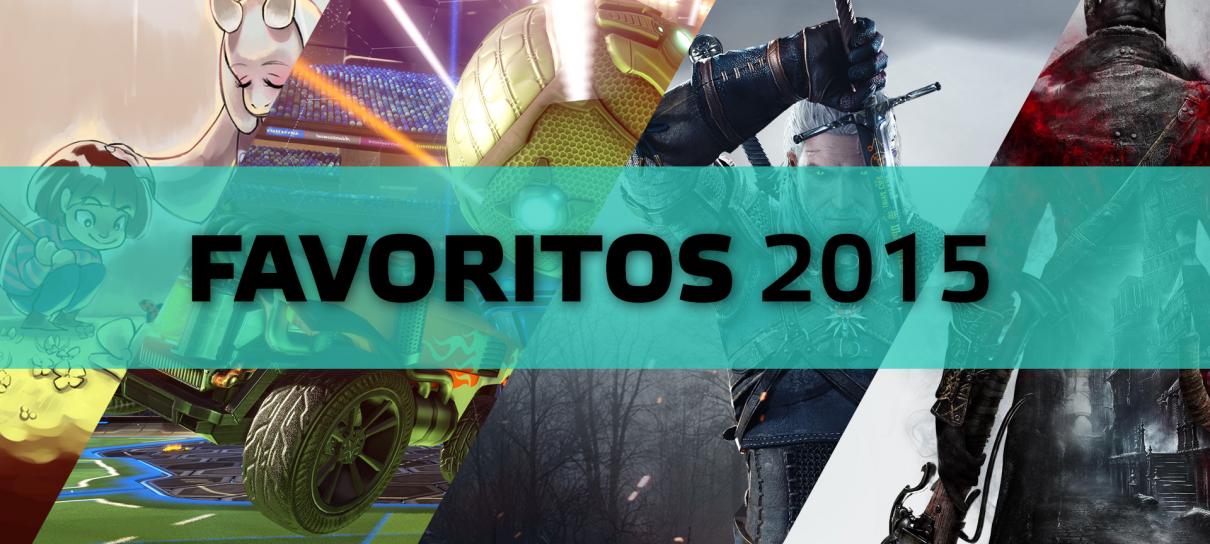 Nossos Jogos Favoritos de 2015