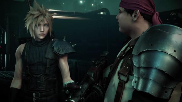 Square confirma os primeiros detalhes do gameplay de Final Fantasy VII Remake