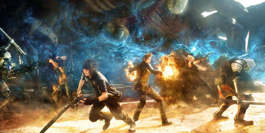 E3 2016 | Final Fantasy XV é demonstrado na conferência da Microsoft