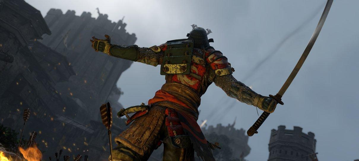 Novo trailer de For Honor foca na classe samurai