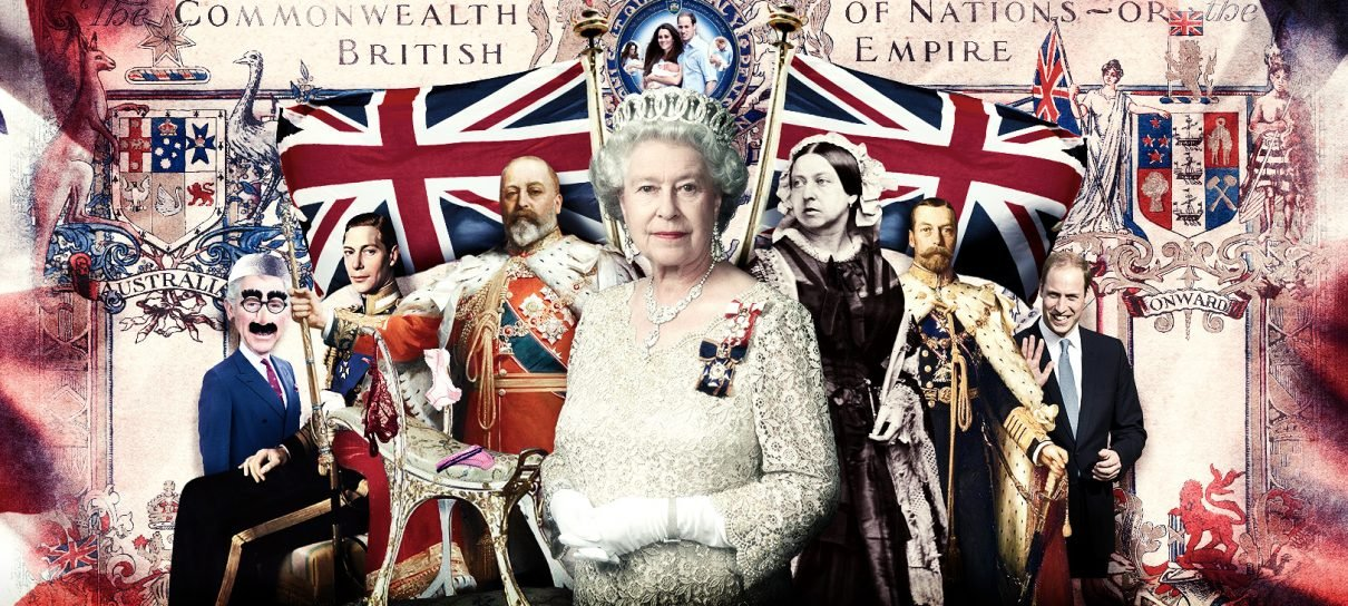 A moderna monarquia britânica