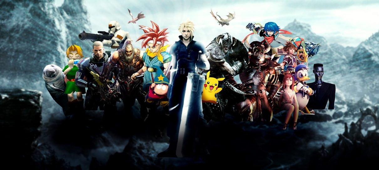 Os mundos dos RPG games