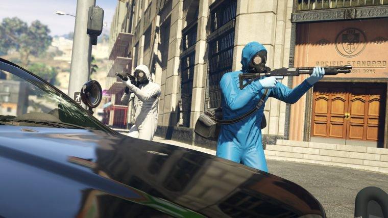 Servidores de GTA Online no PS4 enfrentam problemas