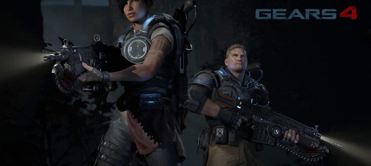 Gears of War 4 vai mostrar o poder gráfico do Xbox One, diz produtor