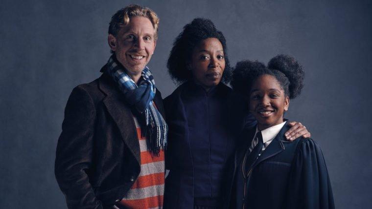 Ron e Hermione aparecem em fotos de Harry Potter and the Cursed Child