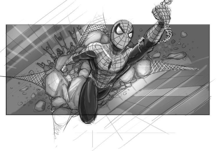 Artes conceituais mostram como seria o Homem-Aranha 4 de Sam Raimi
