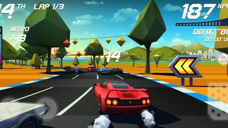 Jogo brasileiro Horizon Chase será lançado para PS4