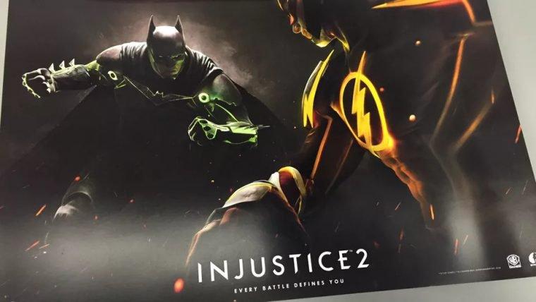 Injustice 2 aparece em pôster de pré-venda