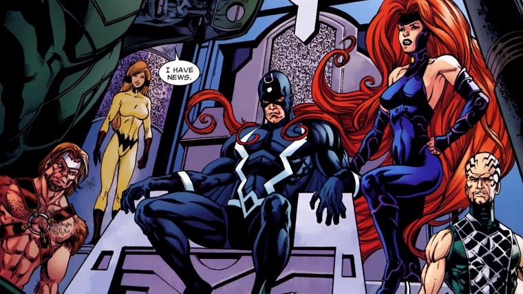Marvel remove filme dos Inumanos do seu calendário