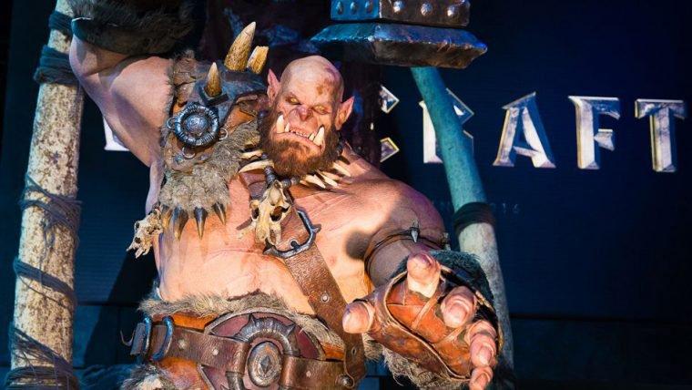 [SDCC] Estande de Warcraft traz armas e acessórios usados no filme