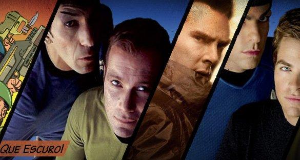 Star Trek e a Escuridão do Além!
