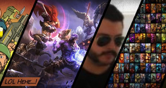 League of Legends (Só que dublado)!