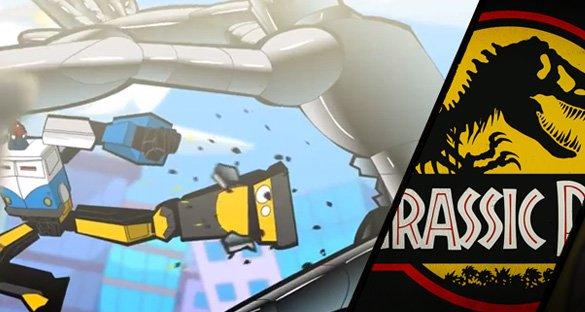 Matando Robôs Gigantes Show 02: Jurassic Par(em essa franquia)!