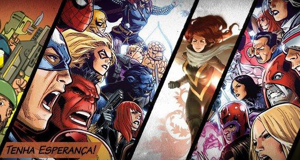 Vingadores Vs. X-men - A Esperança é a Última que Morre!