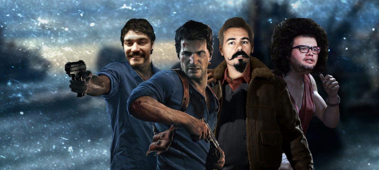 Uncharted 4 e o tesouro de Willy Caolho!