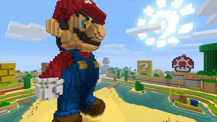 Minecraft ganha pacote com itens Super Mario no Wii U