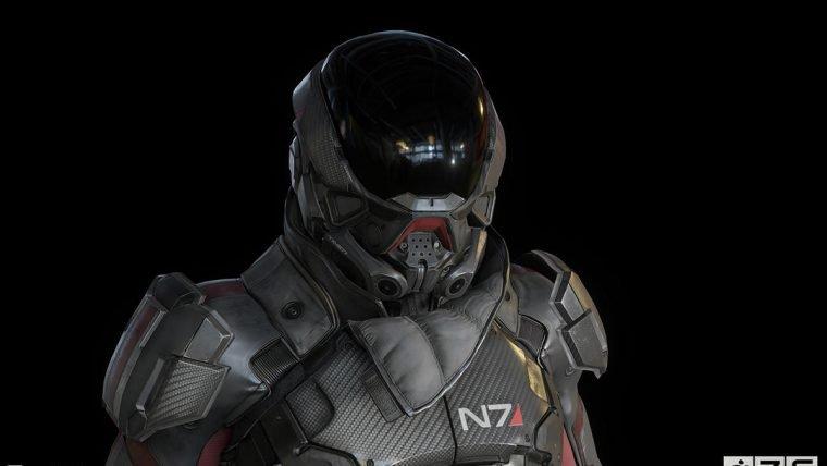 Imagens parecem mostrar o protagonista de Mass Effect Andromeda de perto