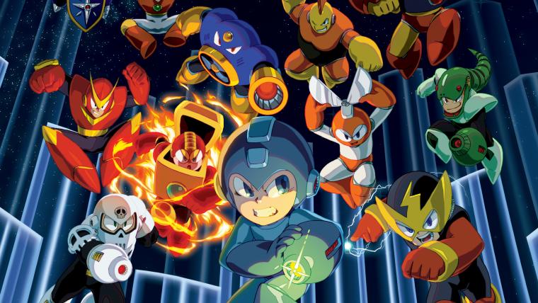 Capcom anuncia coleção com seis jogos Mega Man