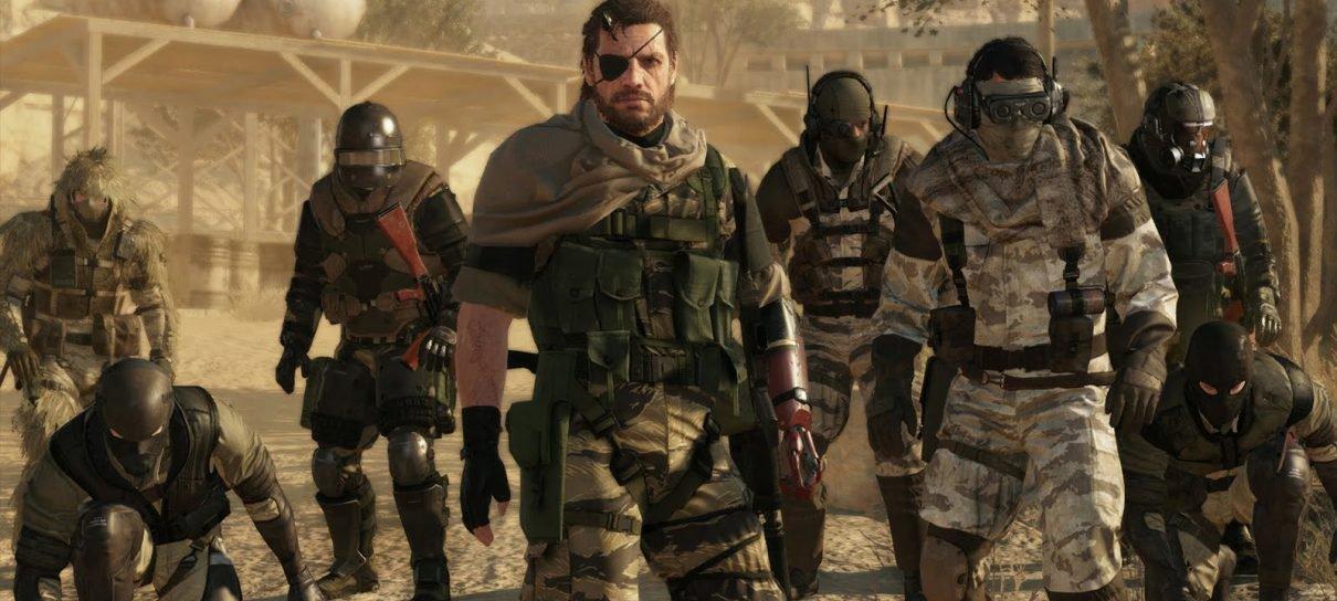 Modo online de Metal Gear Solid V é lançado nos consoles