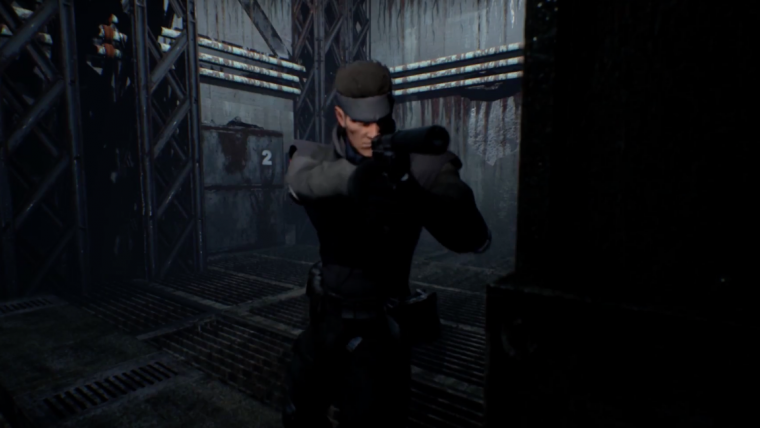 Fãs estão recriando o primeiro Metal Gear Solid na Unreal Engine 4