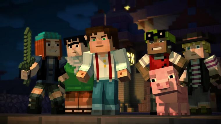 Minecraft: Story Mode também será lançado para Wii U