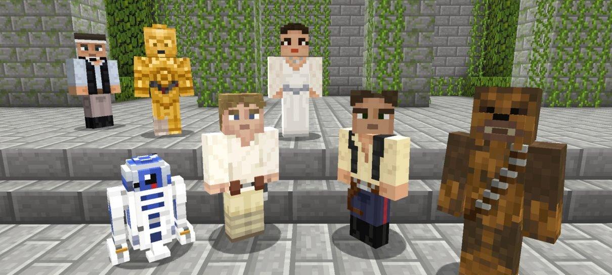 Skins de Star Wars chegam hoje a Minecraft