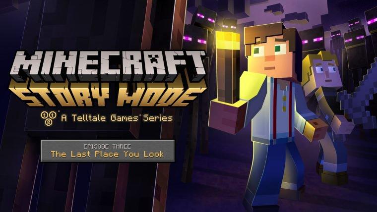 Terceiro episódio de Minecraft: Story Mode tem trailer e data de lançamento