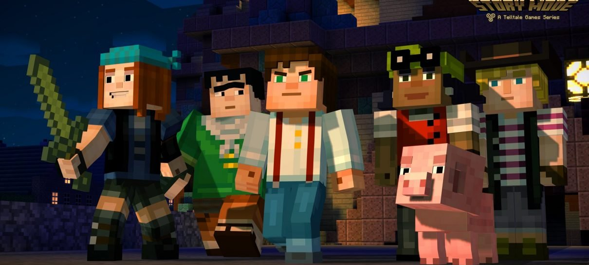 Telltale divulga primeiro trailer de Minecraft: Story Mode