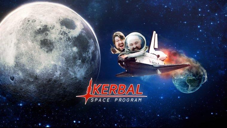 Kerbal Space Program - Missão Lua