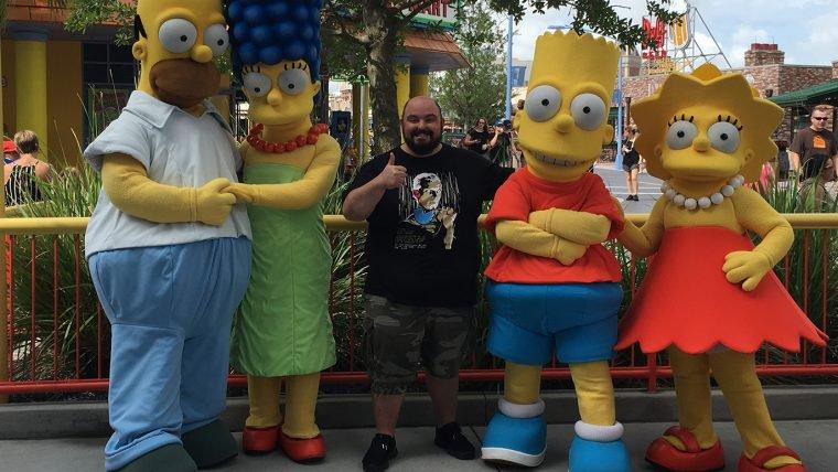 Rolê em Springfield, cidade dos Simpsons!
