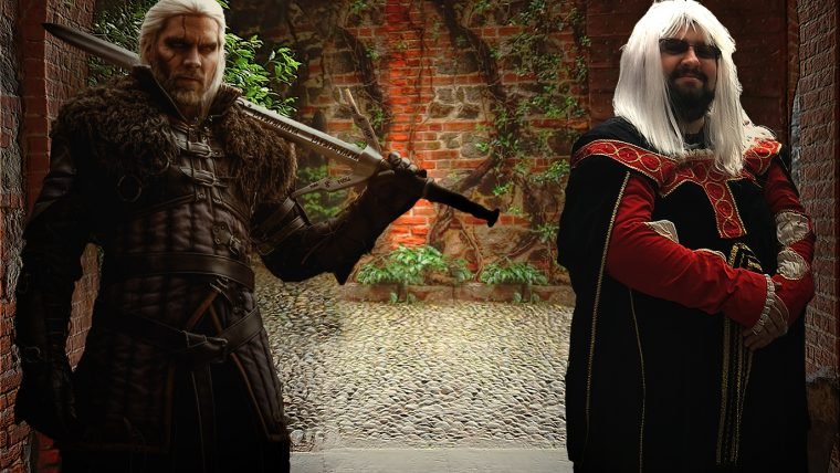 Witcher 3 Blood and Wine - Visita ao castelo
