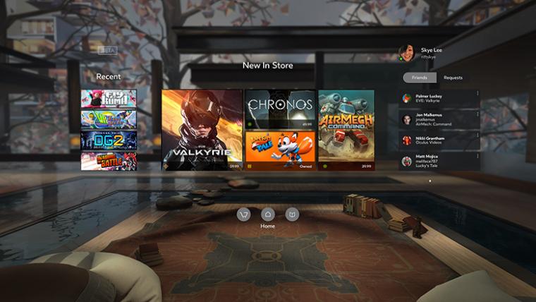 30 jogos vão estar disponíveis no lançamento do Oculus Rift