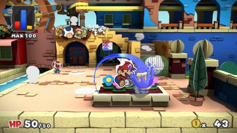 Novo Paper Mario é anunciado para o Wii U