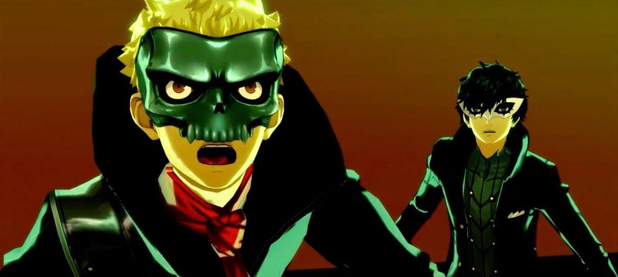 O novo trailer de Persona 5 está aqui e ele é glorioso