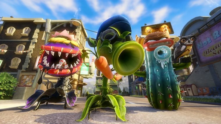 Novo trailer mostra todos os mapas de Plants vs. Zombies: Garden Warfare 2
