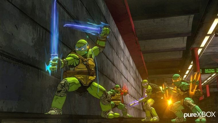 Imagens do jogo de Tartarugas Ninja da Platinum surgem online