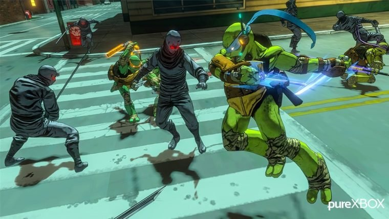 Platinum confirma seu jogo das Tartarugas Ninja