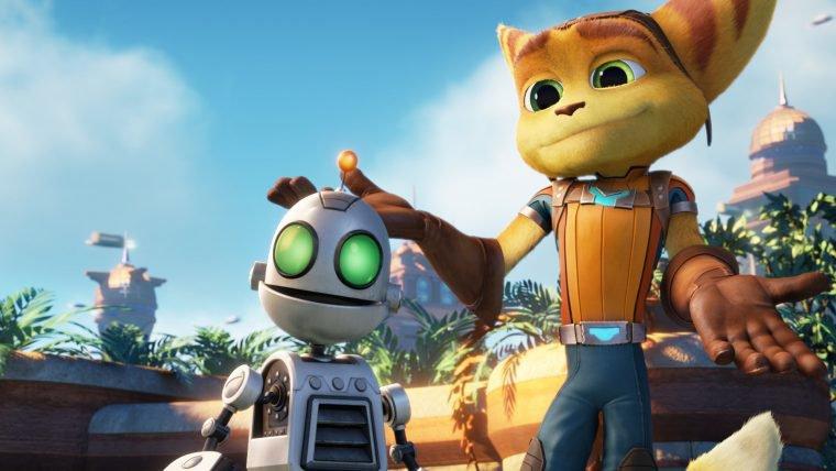 Novo trailer do filme de Ratchet & Clank apresenta os protagonistas