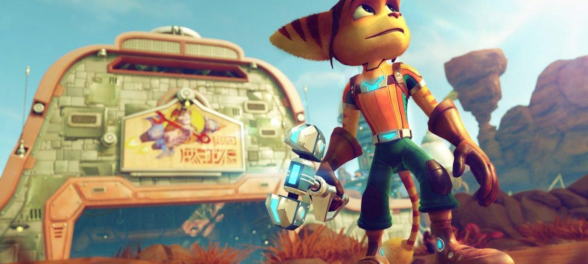 Ratchet & Clank para PS4 ganha data de lançamento