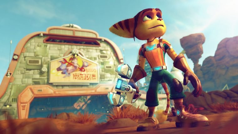 Assista dois vídeos gameplay do Ratchet & Clank de PS4