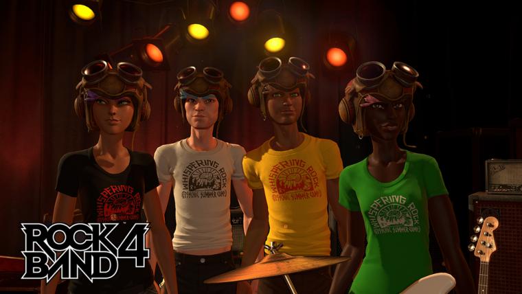 Rock Band 4 ganha DLC gratuito de Psychonauts