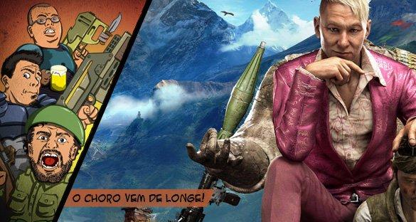 Far Cry 4 e as flechas do Didi!